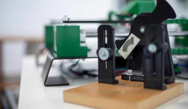 internship project with 3d printed bike crank model